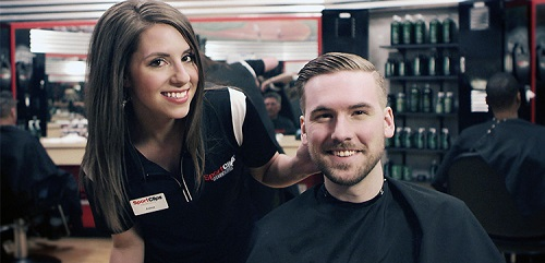 Sport Clips Haircuts of Searcy​ stylist hair cut